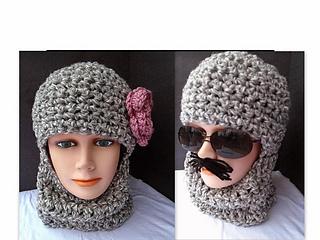 90d54990797 Ravelry  597CRO Crochet Ski Hat