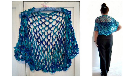 Ravelry 1150yt Lacy Crochet Shrug Pattern By Emi Harrington
