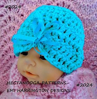 365ef4521 2024 Baby Turban Hat pattern by Emi Harrington