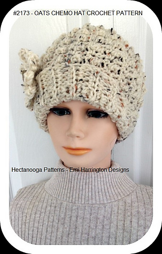 Ravelry 2173 Oats Chemo Hat Pattern By Emi Harrington