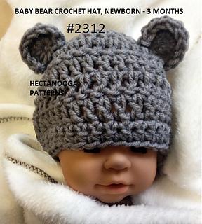 4256f7f22d8 patterns   Emi Harrington s Ravelry Store.   2312-Little Bear Hat