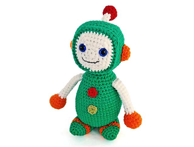 Ravelry: Edward the Robot Boy pattern by Ida Herter