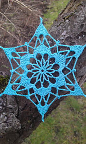 Ravelry Crocus Snowflake Pattern By Snowflakepatterns