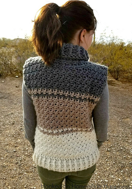 90dba1cb64ac5 patterns   Hooked On Homemade Happiness.   Cowl Sweater Vest