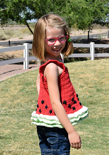 5a199b2c92ff85 Ravelry  Watermelon Tank Top pattern by Breann Mauldin