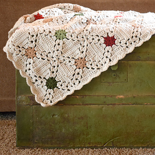 Ravelry Country Christmas Afghan Pattern By Breann Mauldin