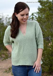 8c7447d44 Ravelry  Weekender Pullover pattern by Breann Mauldin