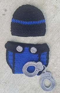 79d403c6 Ravelry: Handcuff Photography Prop pattern by Brenda Smith