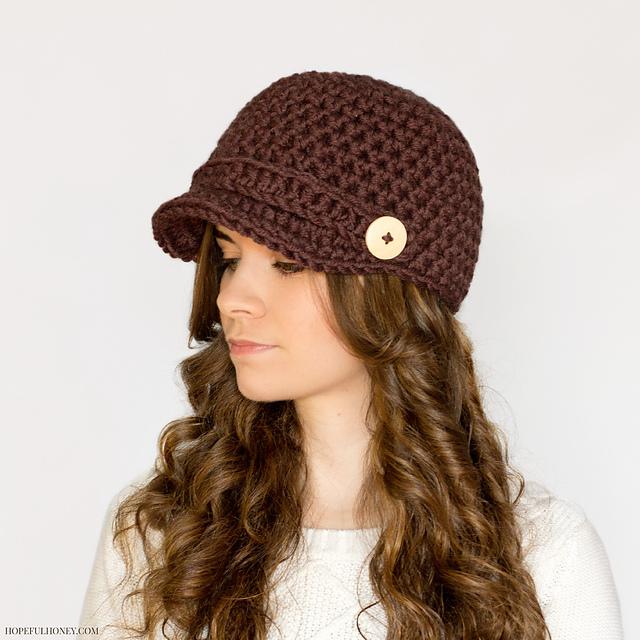 Ravelry Nifty Newsboy Hat Pattern By Olivia Kent