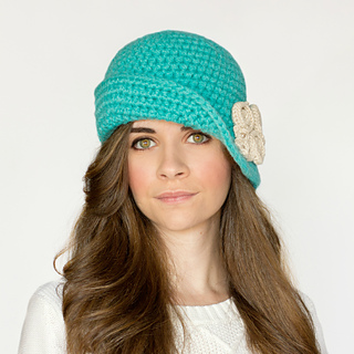Ravelry 1920s charleston cloche hat pattern by olivia kent dt1010fo