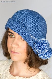 9d05c6913a0ac Ravelry: 1920's Pompom Cloche Hat pattern by Olivia Kent