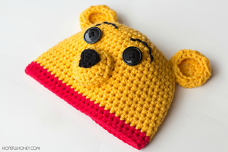 Winnie The Pooh Hat Diaper Set Pattern By Olivia Kent Ravelry