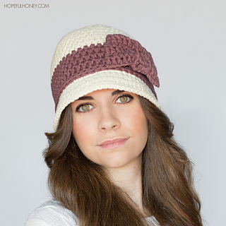 Ravelry downton abbey inspired cloche hat pattern by olivia kent dt1010fo