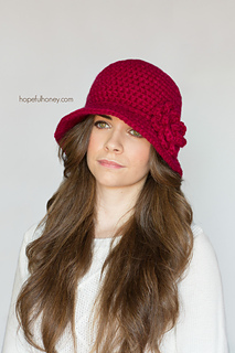 7d61235d5fa Ravelry  1920 s Cloche Hat pattern by Olivia Kent