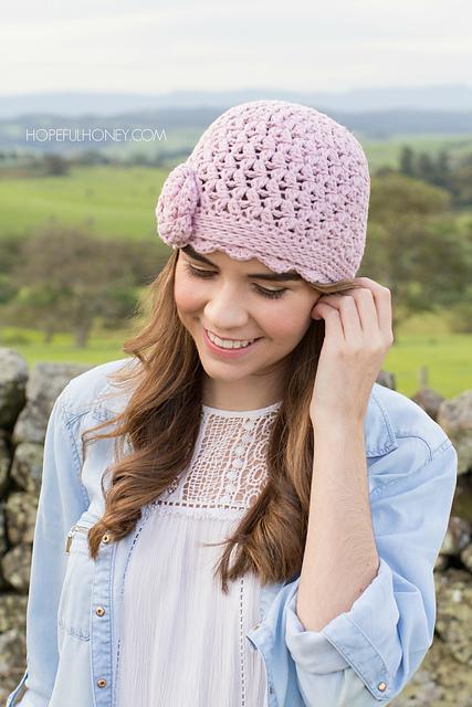 Ravelry Lilac Lace Vintage Hat Pattern By Olivia Kent