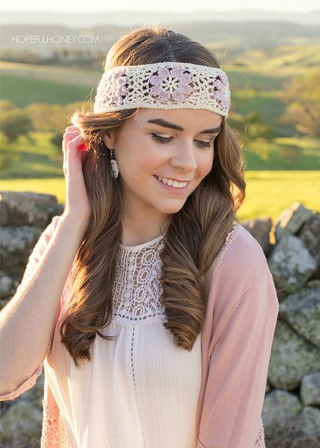 3539d5f58d2fd Orchid Lane Bohemian Headband pattern by Olivia Kent