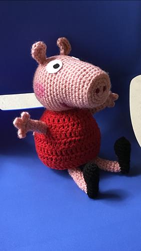 Amigurumi Tutorial Peppa Pig : Ravelry peppa pig amigurumi pattern by sabrina boscolo