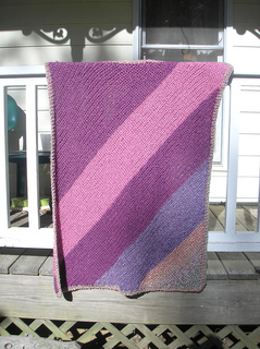 Ravelry Bright Eyes Baby Throw Pattern By Lion Brand Yarn