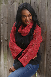Heathered-coral-cowl-and-wrap-set_small_best_fit