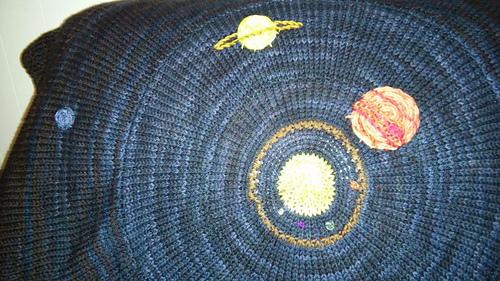 Ravelry Solar System Blanket Pattern By Emily Bujold