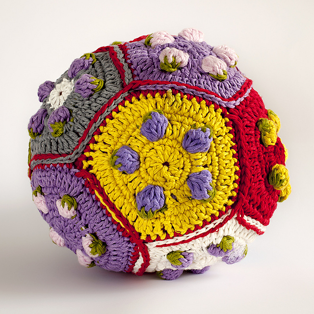 Ravelry Strawberry Crochet Ball Pattern By Iin Wibisono