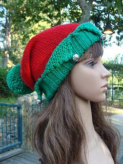 Little Elf Knitting Pattern : Ravelry: Santas Little Elf Knit Hat pattern by Mary ...