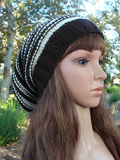 36897702085 Ravelry  Striped Slouchy pattern by Mary Legere