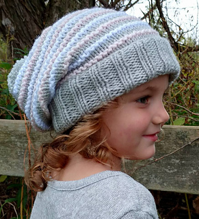 patterns   IKnit4aCure Designs.   Toddler Child Knit slouchy beanie df3a920ea09
