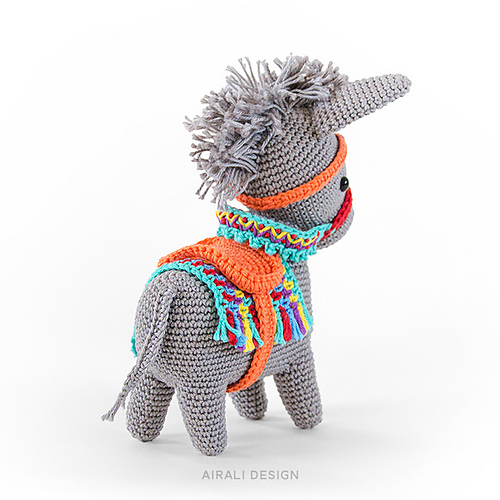 Nachgehäkelt > Pedro, der Esel // Pedro, the donkey - Häkeln macht ... | 500x500