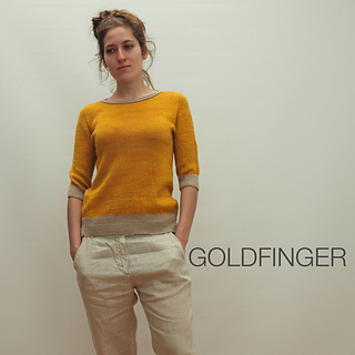 GOLDFINGER pattern by Regina Moessmer