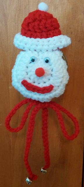 & Ravelry: Santa Doorknob Covers (easy) pattern by Kathyu0027s Custom Crochet