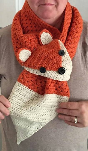 Ravelry Fox Scarf Pattern By We R Soto Design