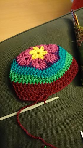 Ravelry African Flower Baby Hat Pattern By Marjolein Loomans