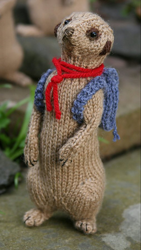 Ravelry Meerkat Family Pattern By Sandra Polley