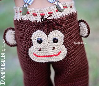 7b16e806199 Ravelry  Silly Monkey Hat and Pants pattern by Ira Rott