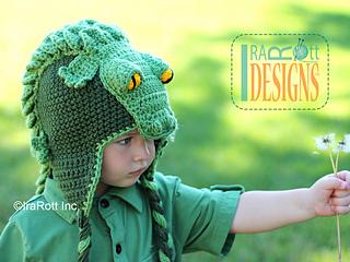 Ravelry  Snappy Simon Crocodile Hat pattern by Ira Rott 7c038146db9