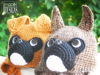 43f174e5380 Ravelry  Duncan the Boxer Hat pattern by Ira Rott