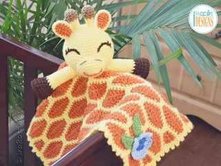 Ravelry Rusty Giraffe Security Blanket Pattern By Ira Rott