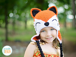Ravelry  Roxy The Forest Fox Hat pattern by Ira Rott 00a5b2cbc99