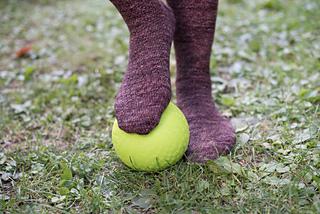 Mr. Toms Field Socks pattern by Cori Eichelberger