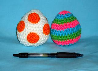 Ravelry: Yoshi eggs amigurumi pattern by Jennie Faith
