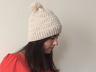11ab8a2ac12e2b Snow Day Hat pattern by JoannaN Designs - Ravelry