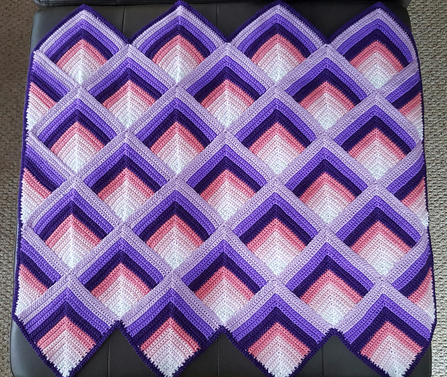 Ravelry Pyramid Afghan Pattern By Bernhard Ulmann Co