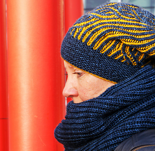 0e5f84f3 Valkyrie Hat pattern by Jennifer Shiels Toland