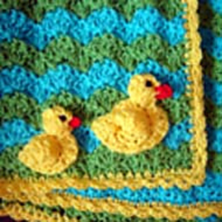 Ravelry Duck Baby Blanket And Applique Pattern By Jtcreations