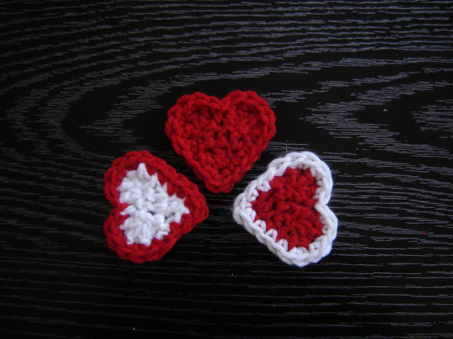 Ravelry Valentine Hearts Pattern By Jtcreations
