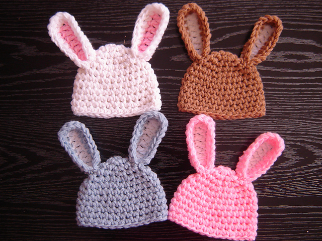 patterns   JTcreations Ravelry Download.   Easy Bunny Hat affe629e6f0