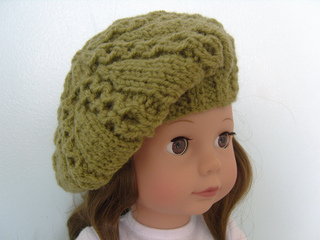 Ravelry American Girl Doll Beret Pattern By Jacqueline Gibb