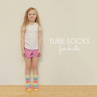 Ravelry: TUBE SOCKS for Kids pattern by Jane Richmond