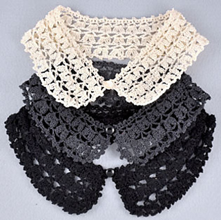 Detachable Puffy Lace Peter Pan Collar Pattern By Jasz Ravelry